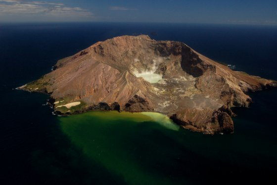 Whakaari White Island Volcano in New Zealand 20061112 A